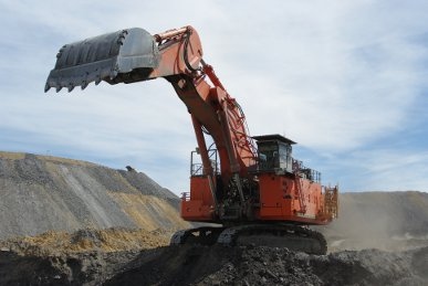 Jellinbah Coal Mine excavator